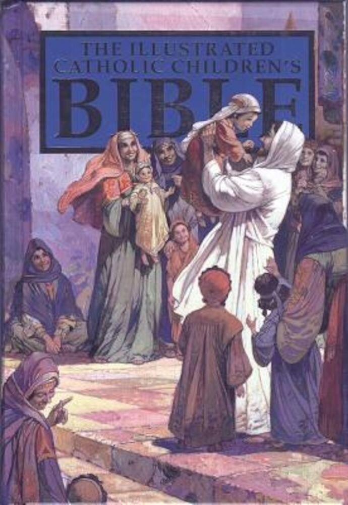 Catholic Children's Illustrated Bible-NAB, Hardcover