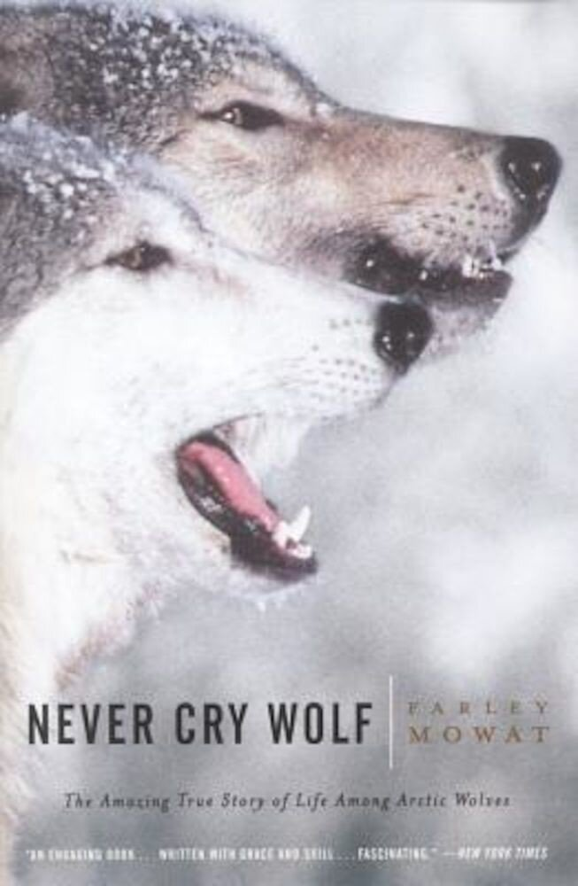 Never Cry Wolf, Paperback