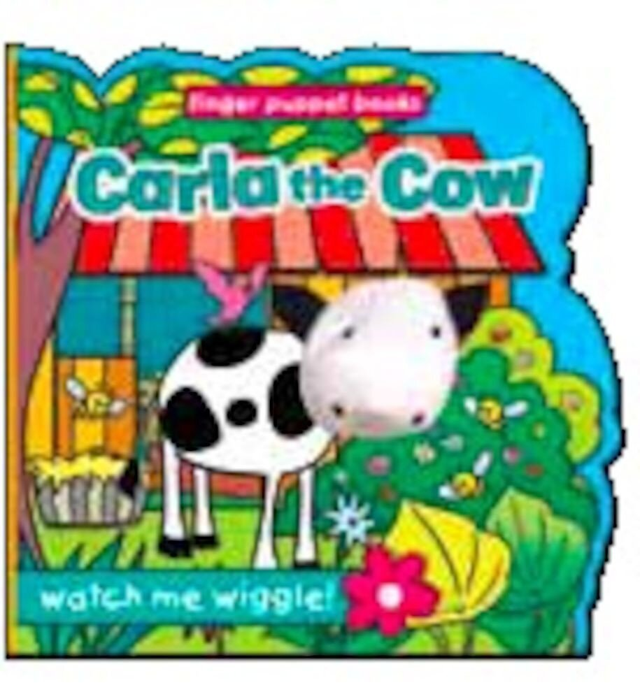Finger puppet book - carla the cow