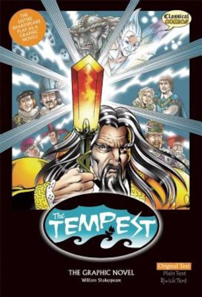 The Tempest the Graphic Novel: Original Text, Paperback