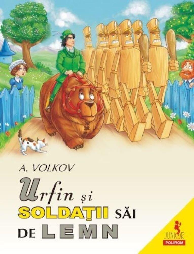Coperta Carte Urfin si soldatii sai de lemn
