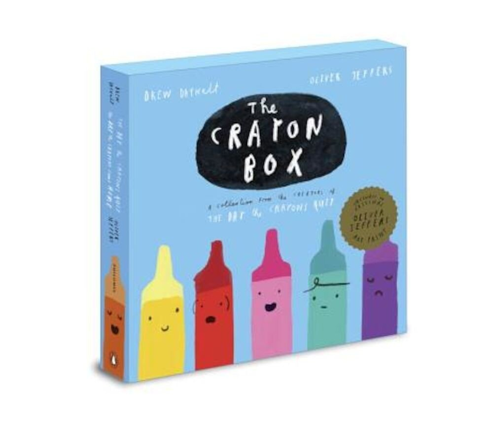 The Crayon Box: The Day the Crayons Quit Slipcased Edition, Hardcover