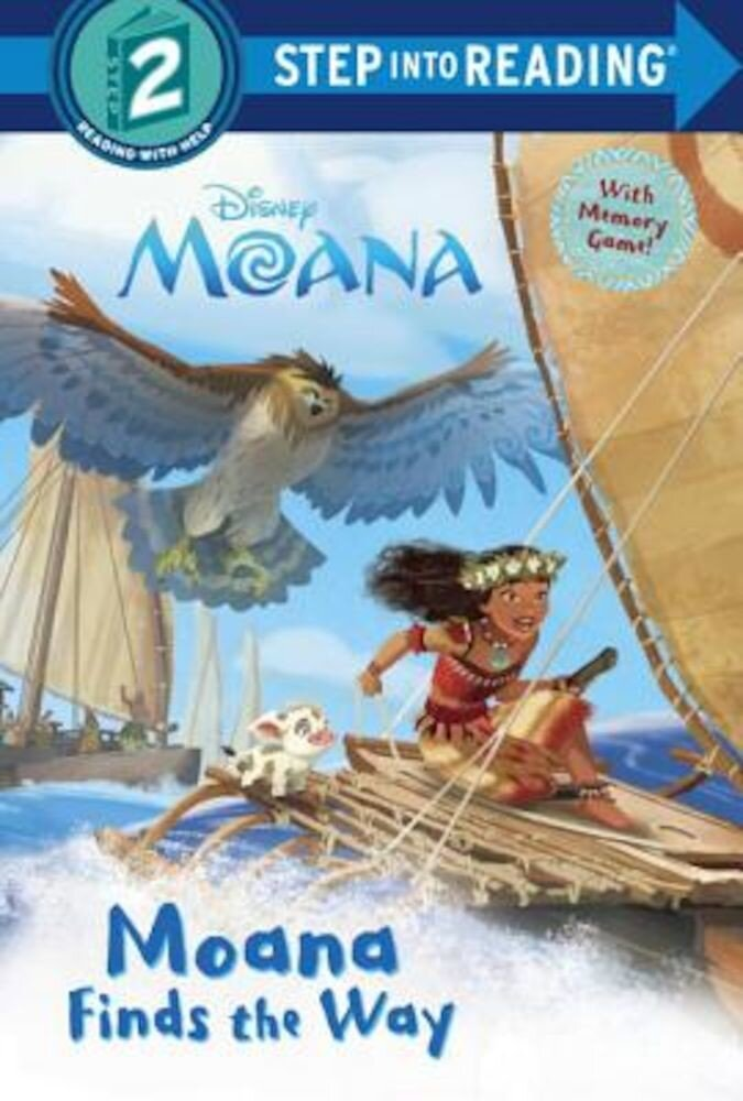 Moana Finds the Way (Disney Moana), Paperback