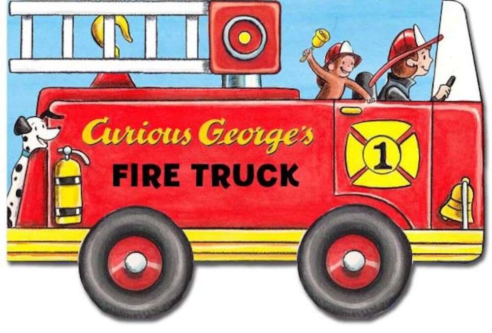 Curious George's Fire Truck, Hardcover