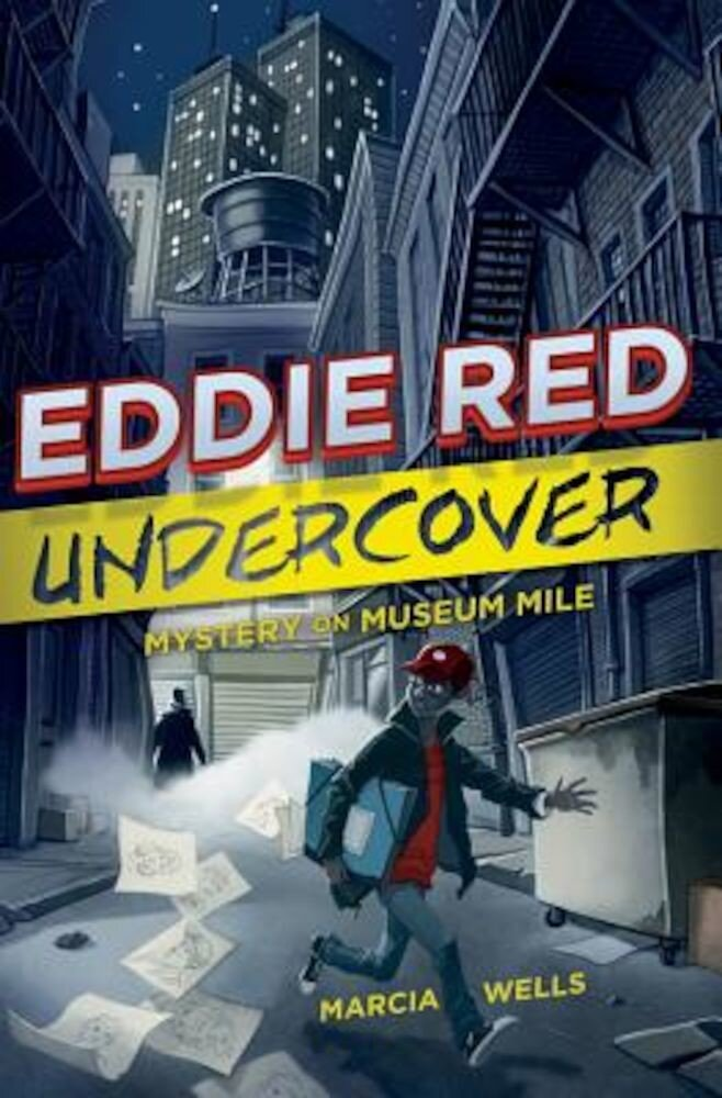 Eddie Red Undercover: Mystery on Museum Mile, Hardcover