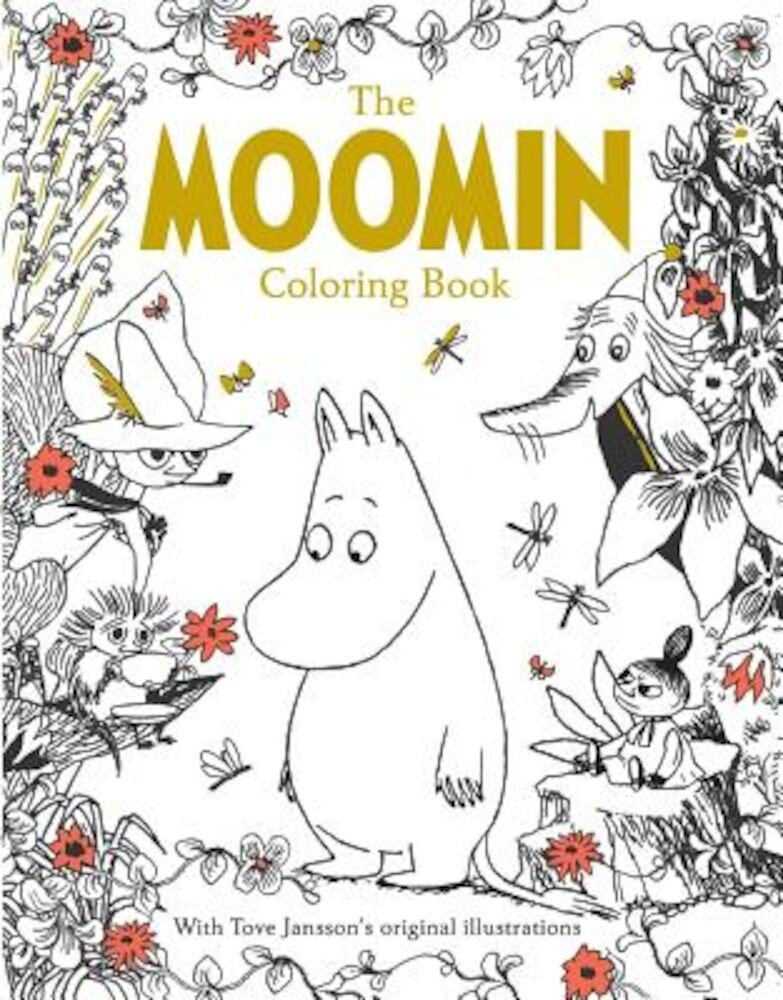 The Moomin Coloring Book, Paperback