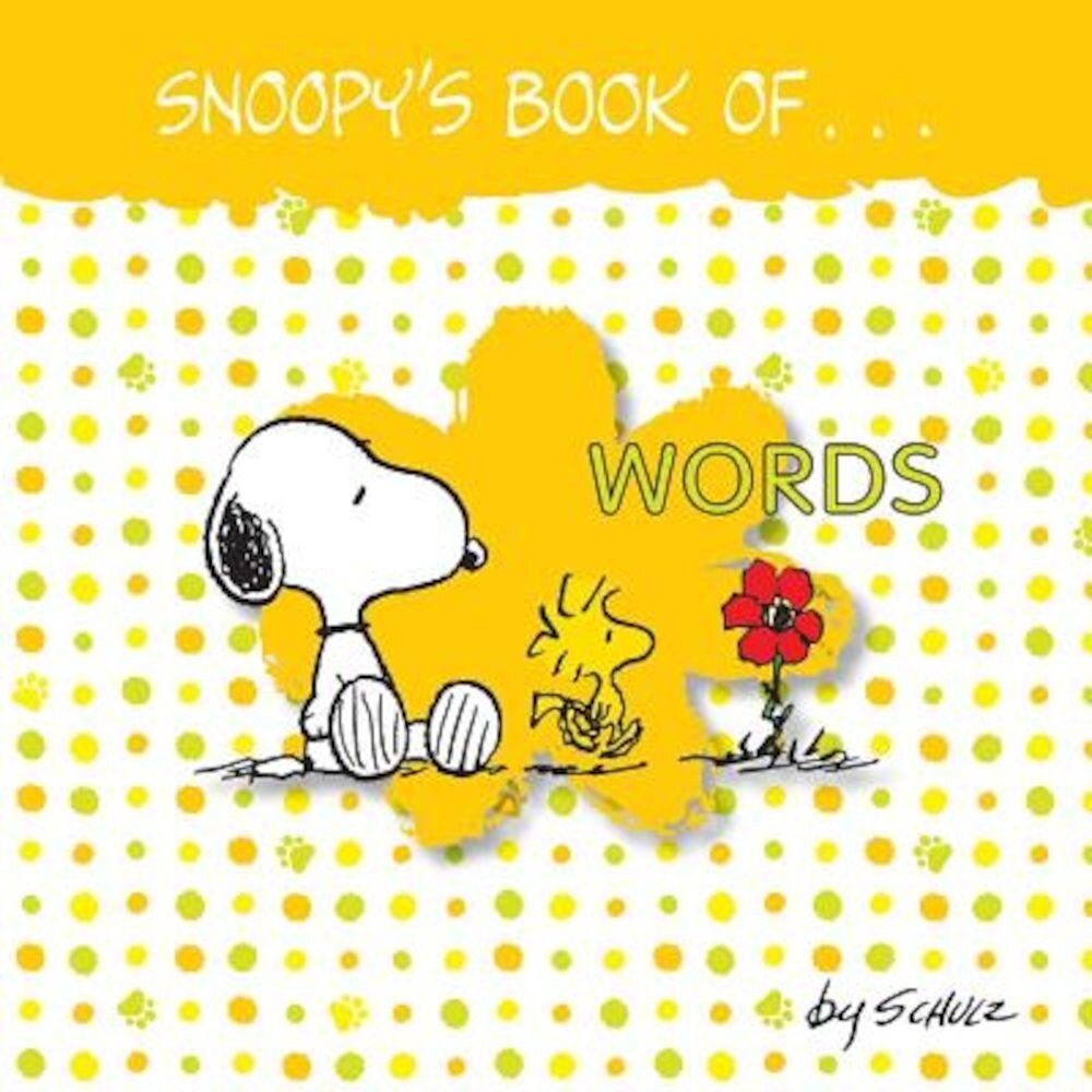 Snoopy's Book of Words, Hardcover