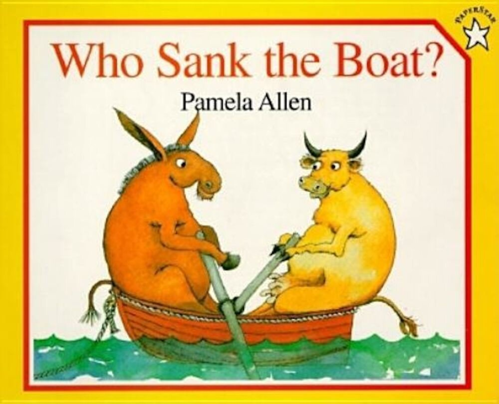 Who Sank the Boat?, Paperback