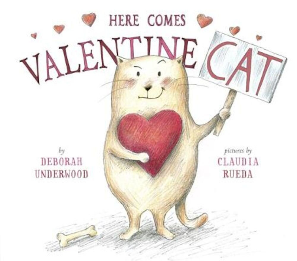 Here Comes Valentine Cat, Hardcover