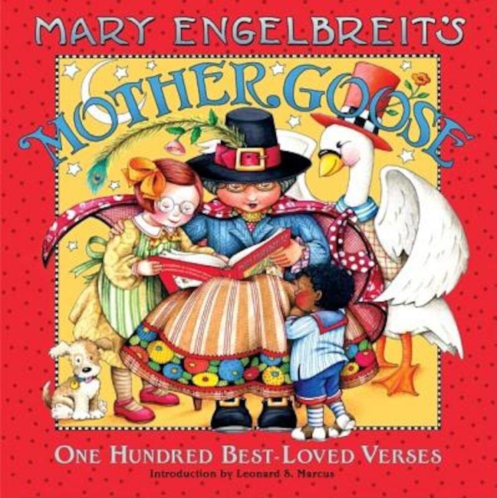 Mary Engelbreit's Mother Goose: One Hundred Best-Loved Verses, Hardcover