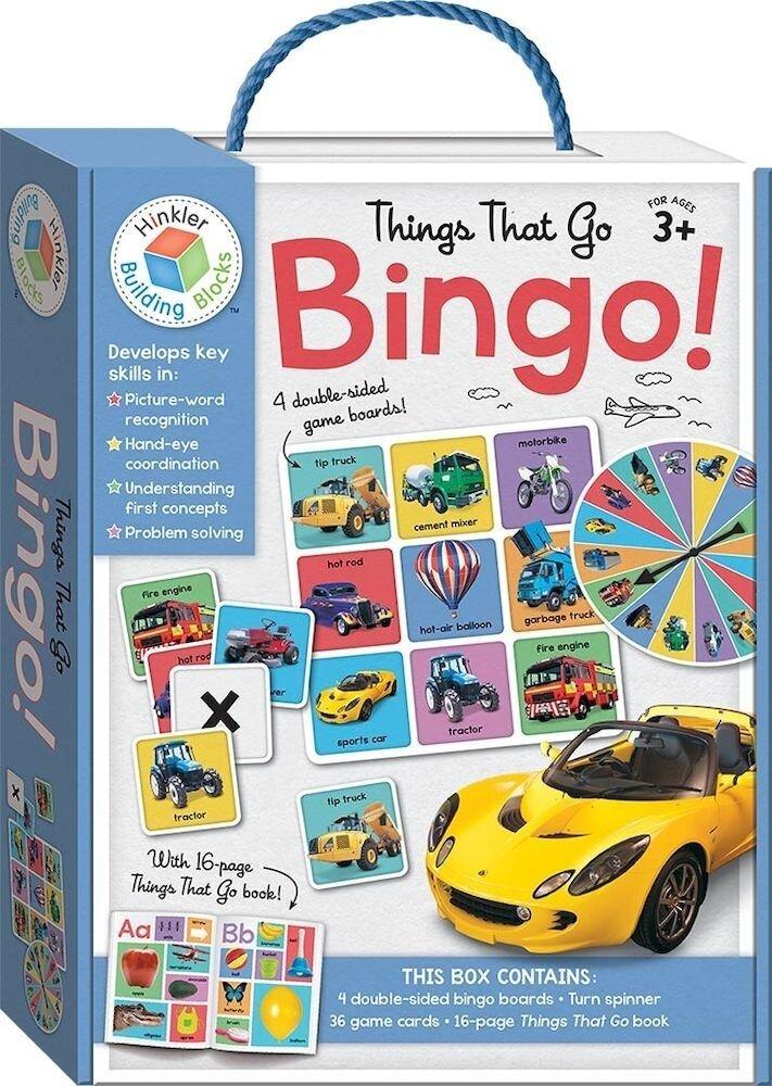 Things That Go Building Blocks Bingo - Building Blocks