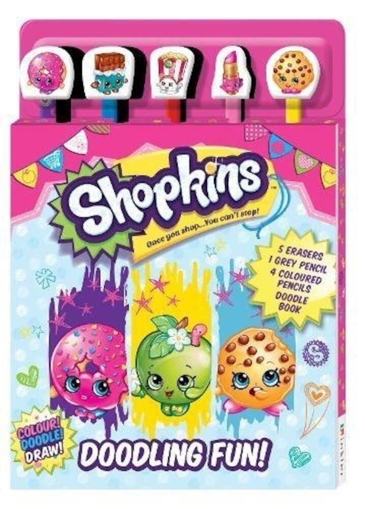 Coperta Carte Shopkins 5-Pencil Set