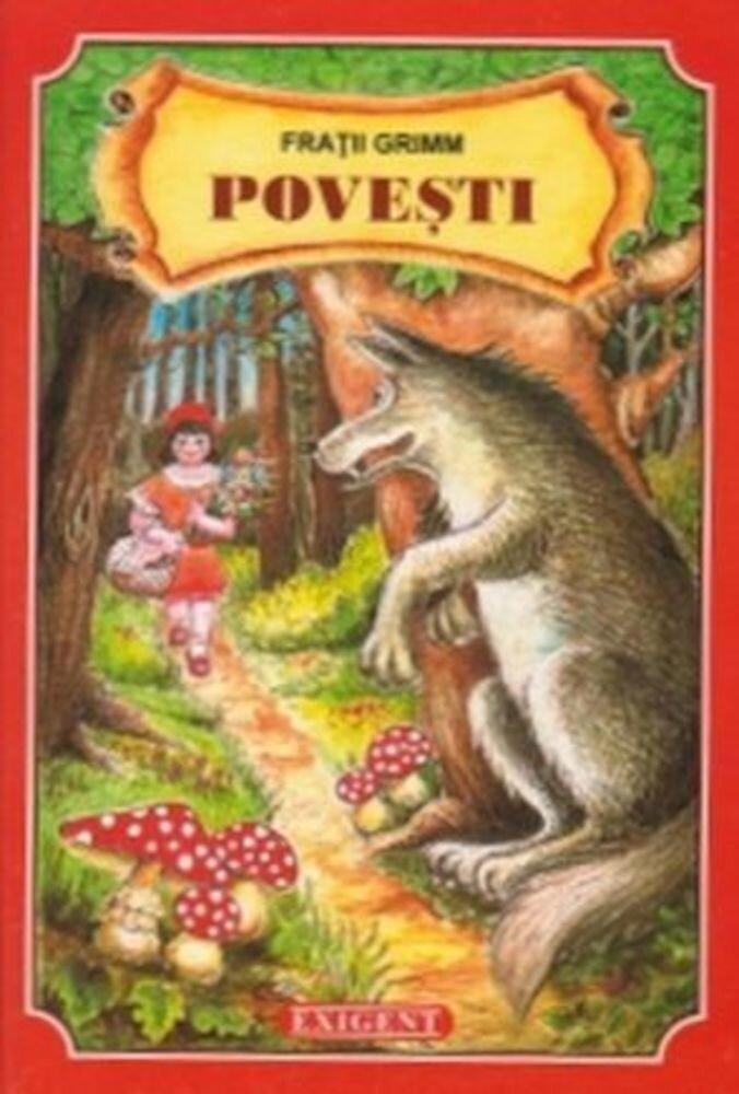 Coperta Carte Povesti - editie de lux