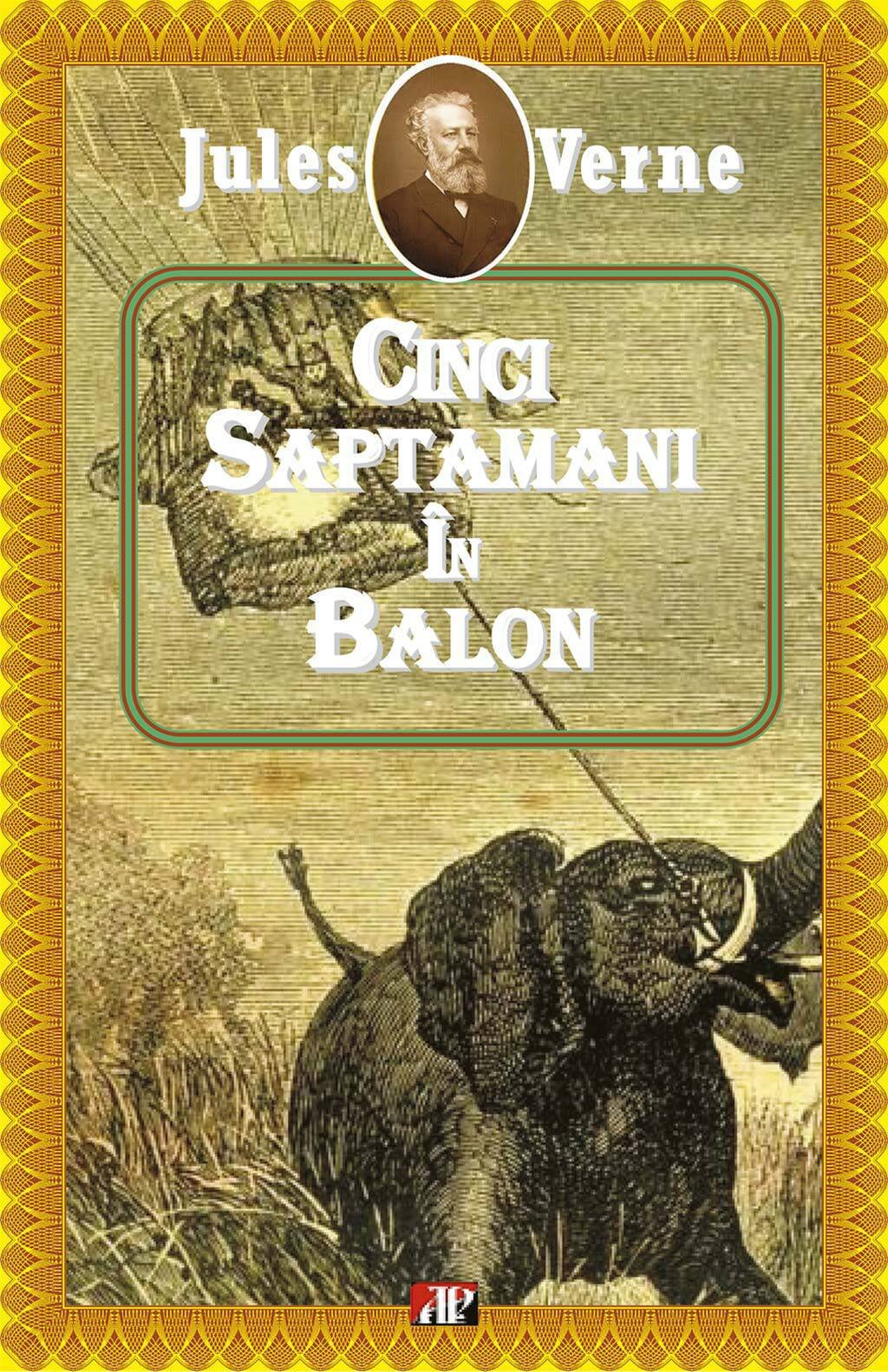 Cinci saptamani in balon (eBook)