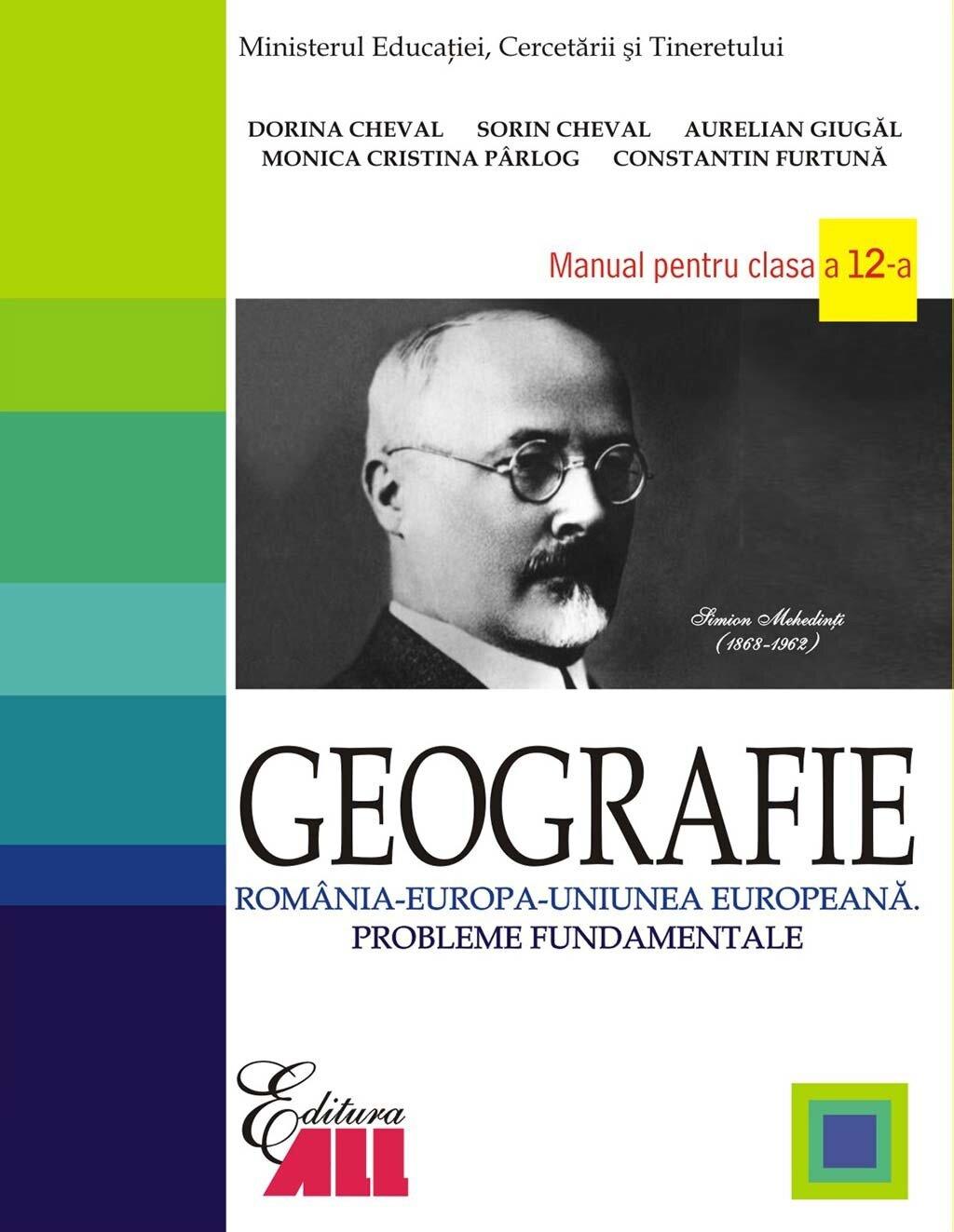 Geografie. Manual pentru clasa a 12-a (eBook)