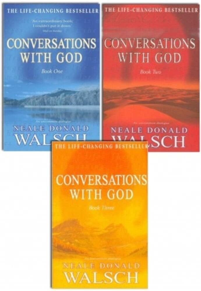 Neale Donald Walsch Conversations with God Trilogy 3 Books Set Brand New PB