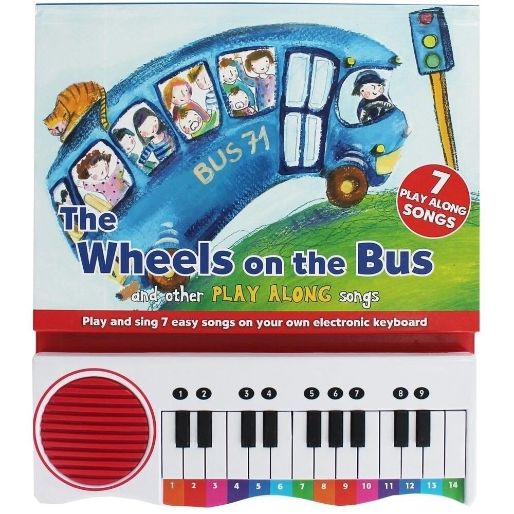 Piano Book - Sing Along Songs Wheels On The Bus