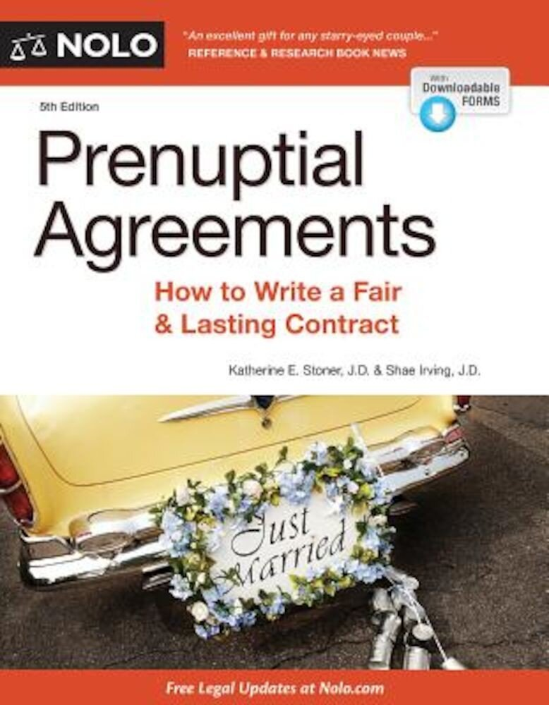 Prenuptial Agreements: How to Write a Fair & Lasting Contract, Paperback