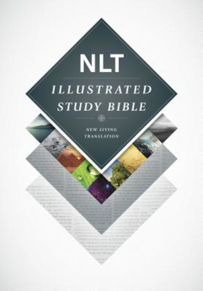 Illustrated Study Bible-NLT, Hardcover