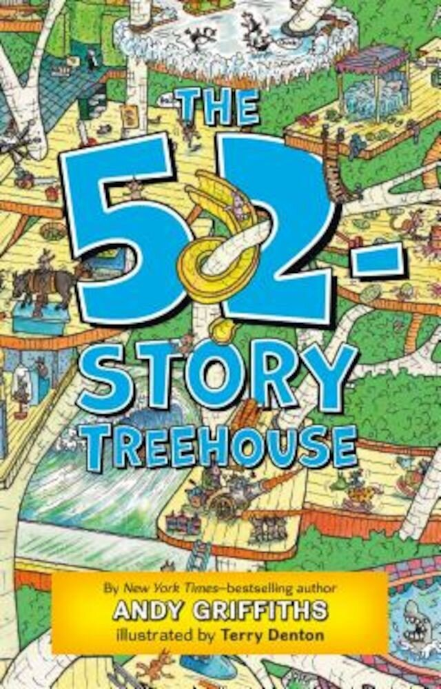 The 52-Story Treehouse, Paperback