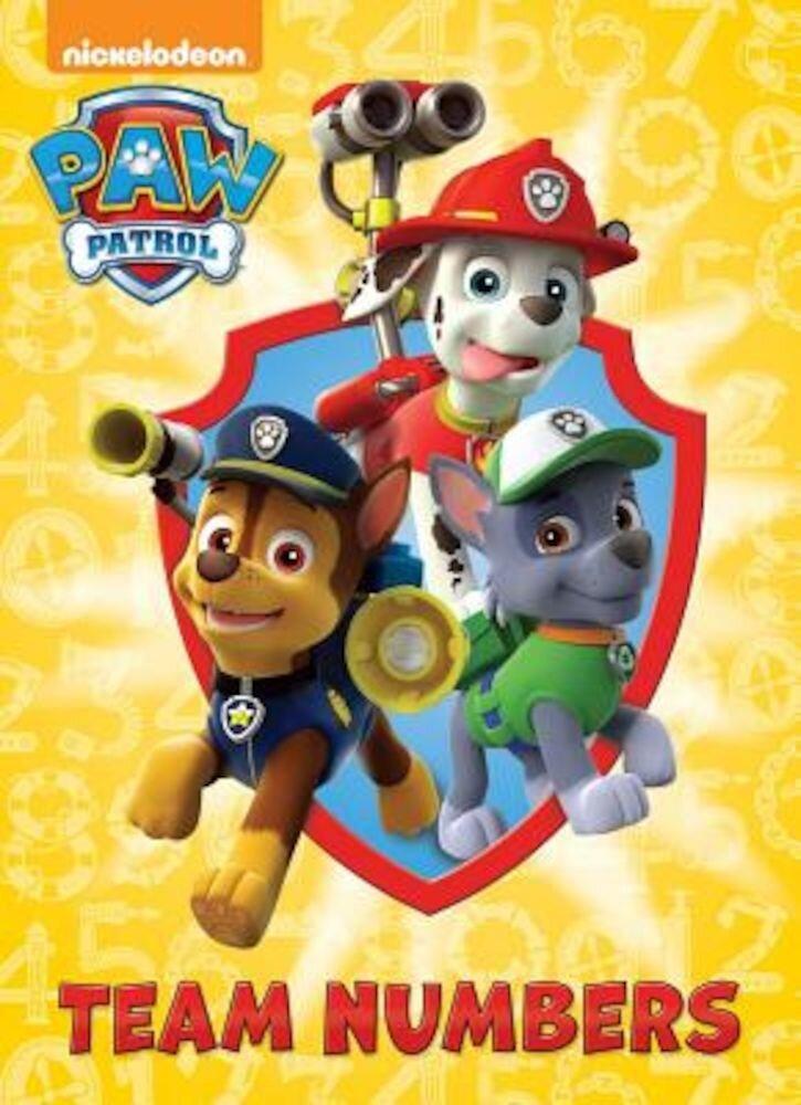 Team Numbers (Paw Patrol), Hardcover