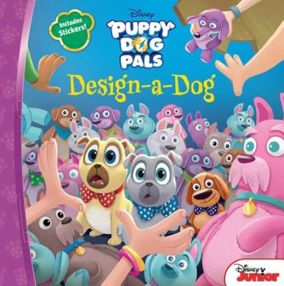 Puppy Dog Pals Design-A-Dog, Paperback