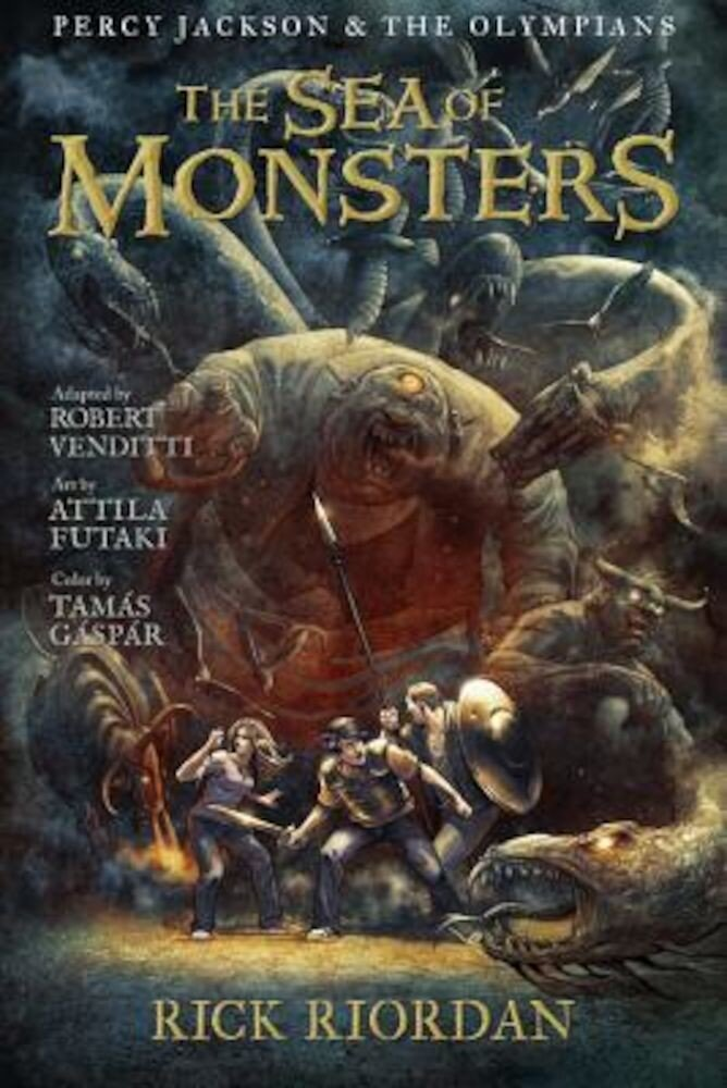 The Sea of Monsters: The Graphic Novel, Paperback