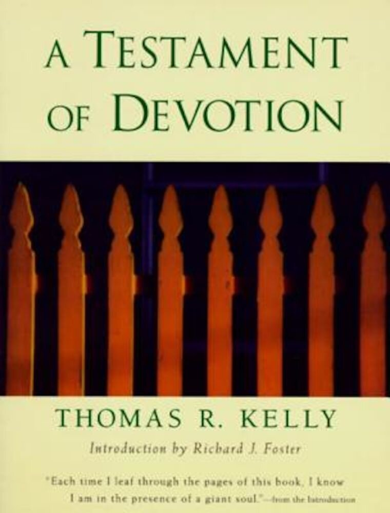 A Testament of Devotion, Paperback