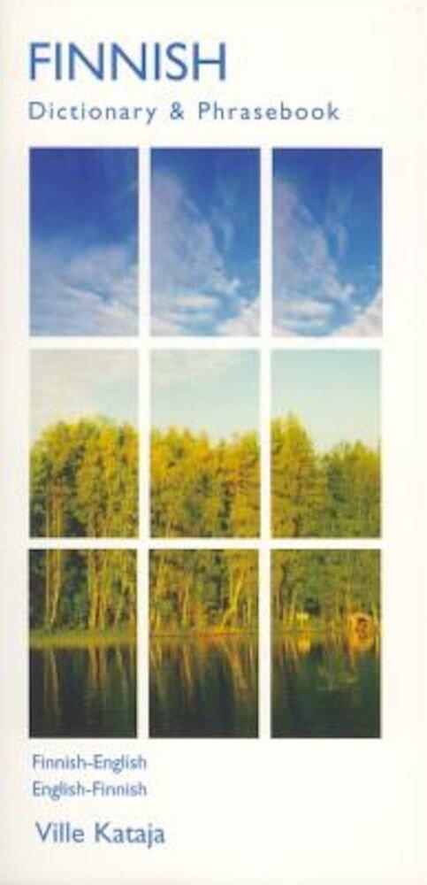 Finnish-English/English-Finnish Dictionary & Phrasebook, Paperback