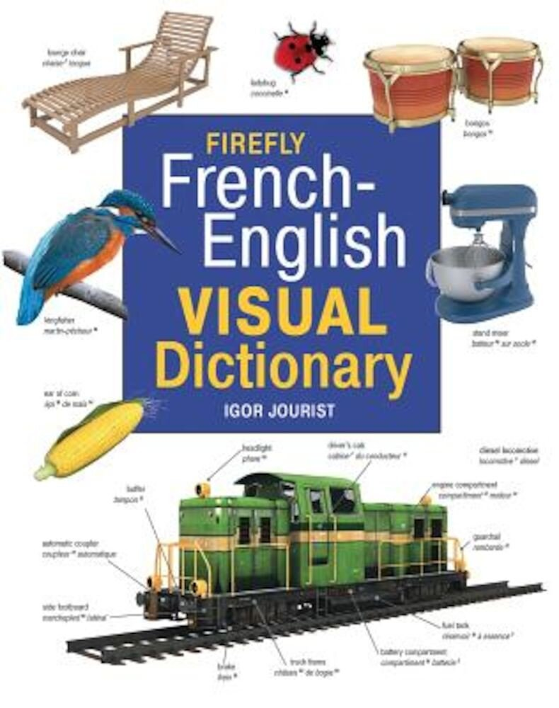 Firefly French-English Visual Dictionary, Hardcover