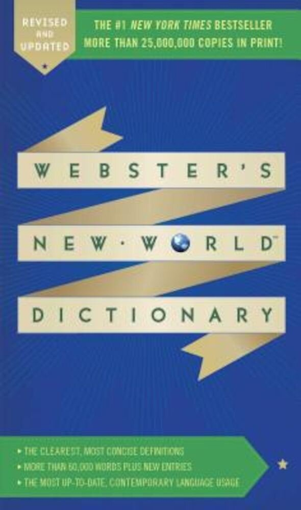 Webster's New World Dictionary, Paperback