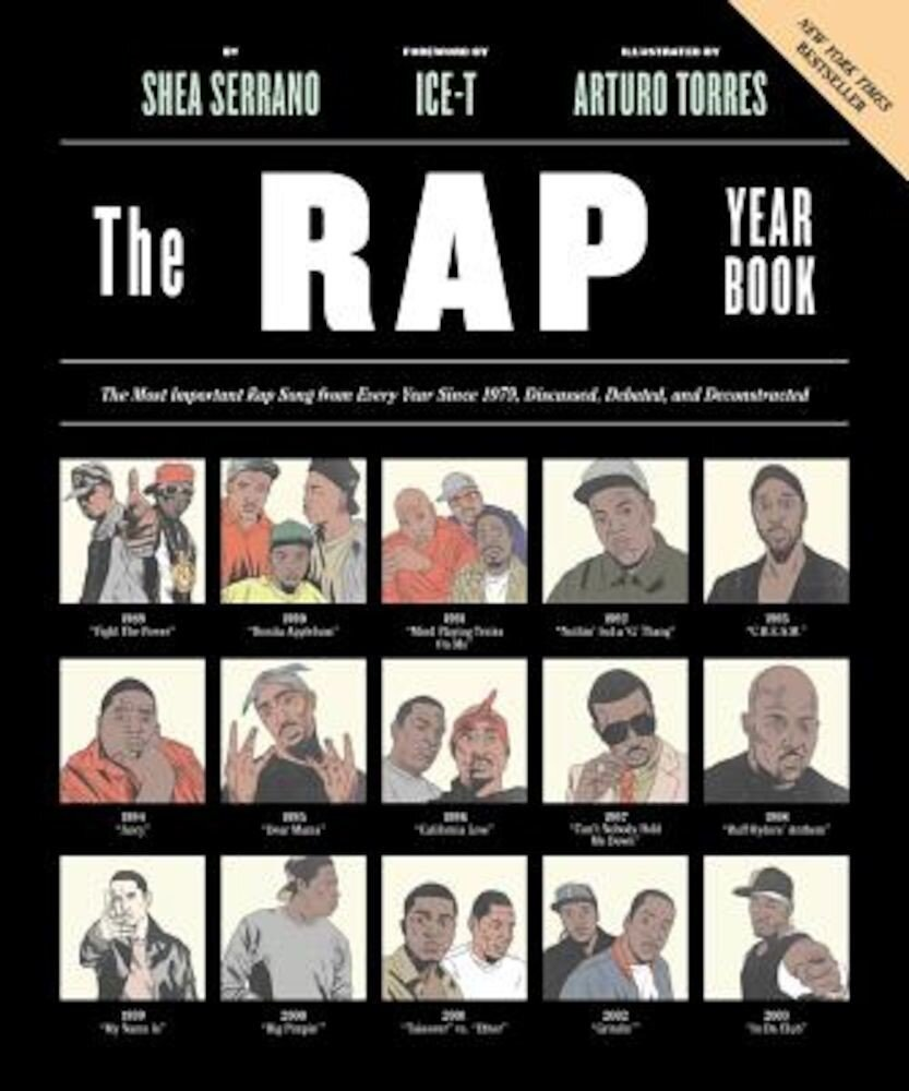 The Rap Year Book: The Most Important Rap Song from Every Year Since 1979, Discussed, Debated, and Deconstructed, Paperback