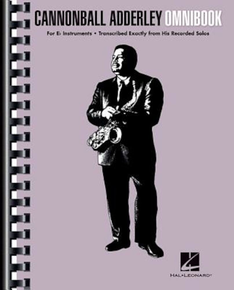 Cannonball Adderley - Omnibook: For E-Flat Instruments, Paperback