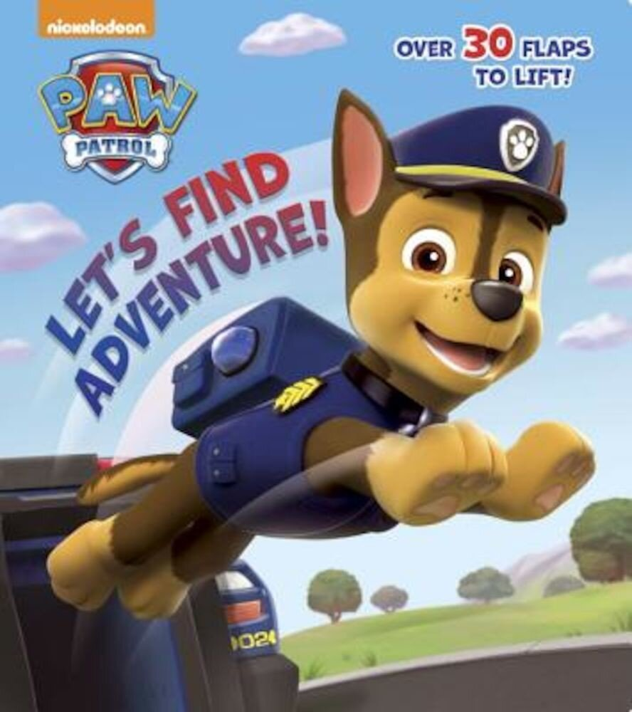 Let's Find Adventure! (Paw Patrol), Hardcover