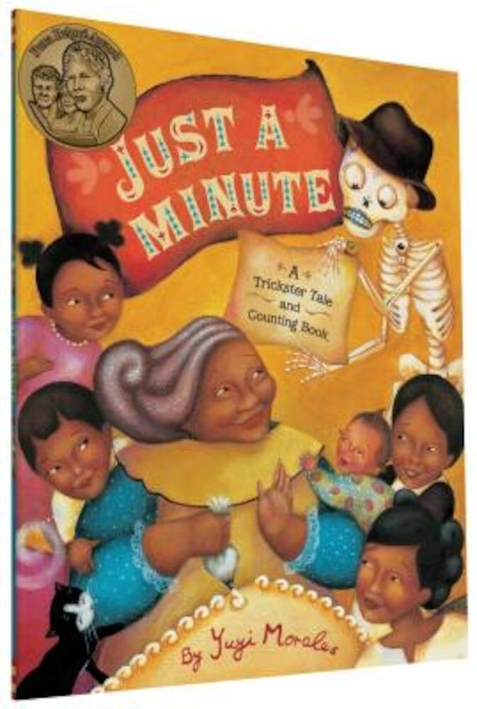 Just a Minute: A Trickster Tale and Counting Book, Paperback