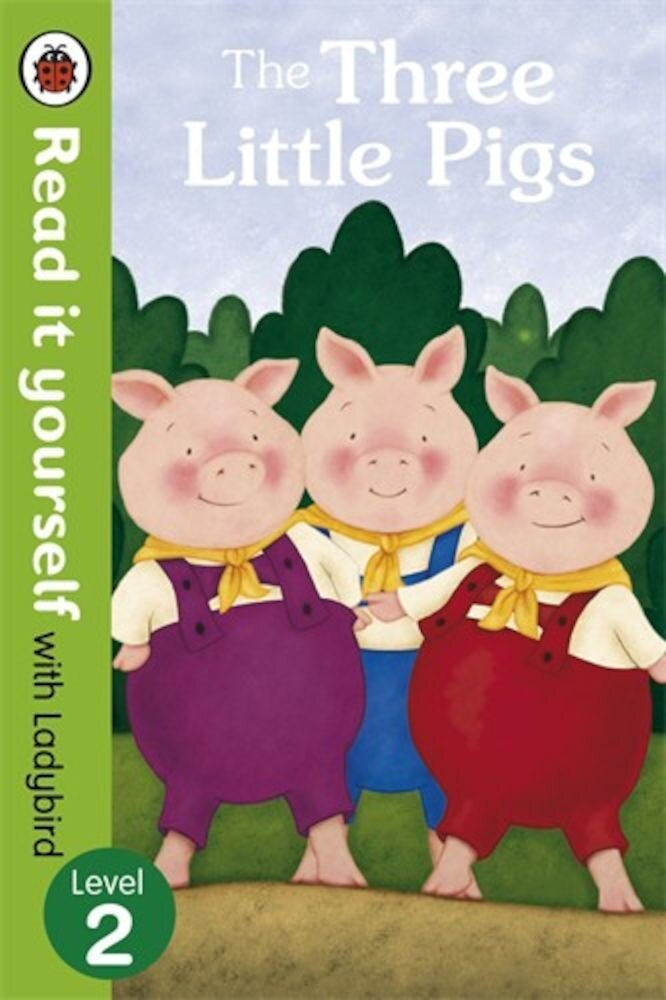 The Three Little Pigs -Read it yourself with Ladybird, Level 2
