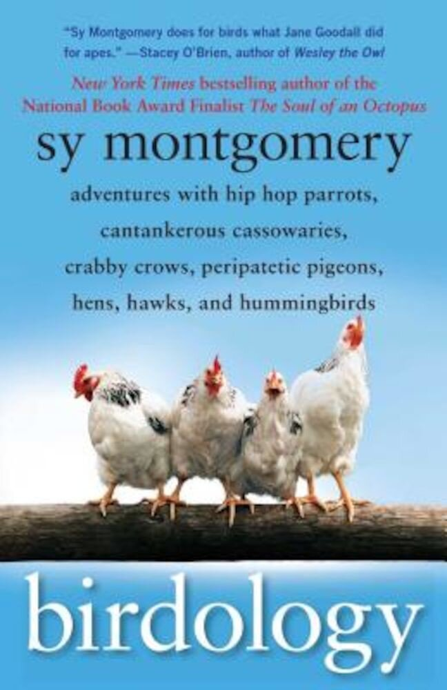 Birdology: Adventures with Hip Hop Parrots, Cantankerous Cassowaries, Crabby Crows, Peripatetic Pigeons, Hens, Hawks, and Humming, Paperback
