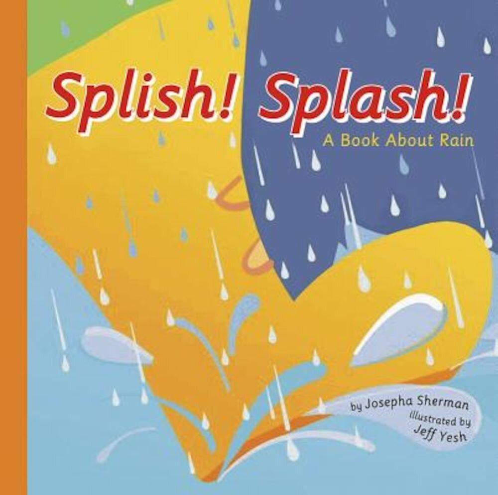 Splish! Splash!: A Book about Rain, Paperback