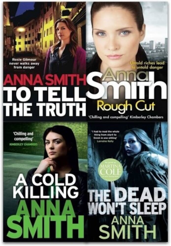 Anna Smith Collection Rosie Gilmour Series 4 Books Set