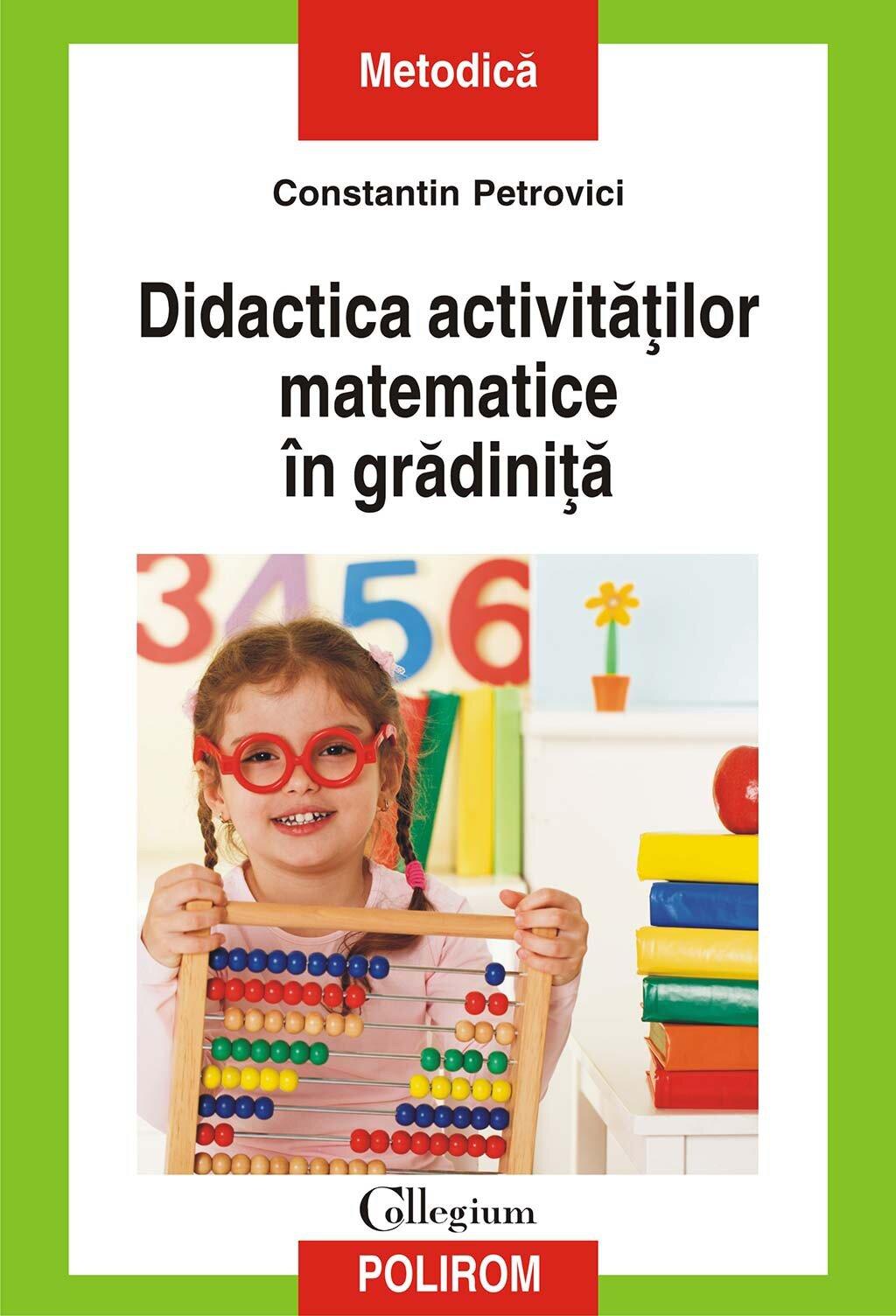 Didactica activitatilor matematice in gradinita (eBook)