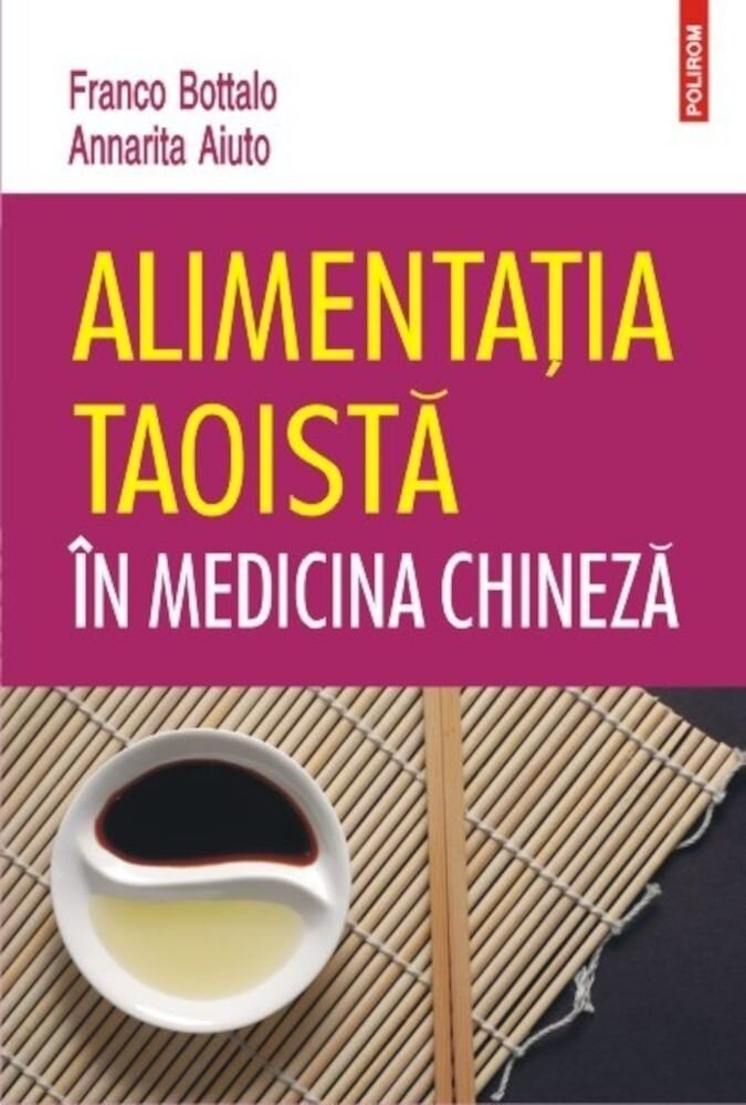 Coperta Carte Alimentatia taoista in medicina chineza