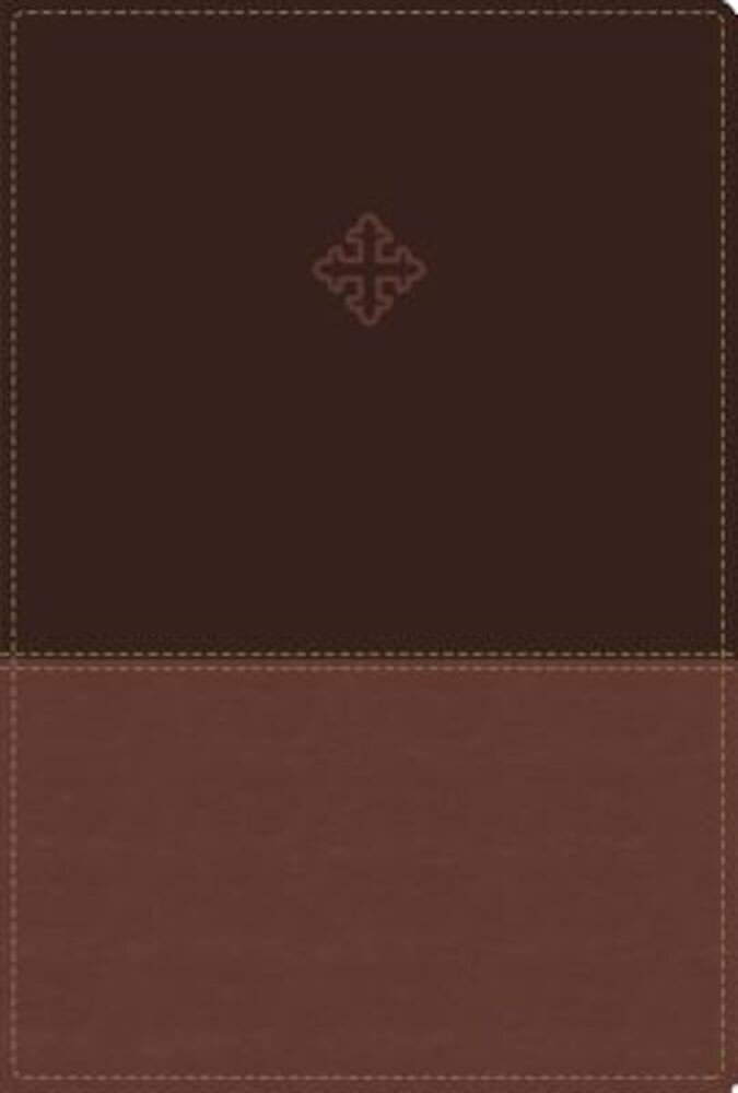 Amplified Study Bible, Imitation Leather, Brown, Indexed, Hardcover