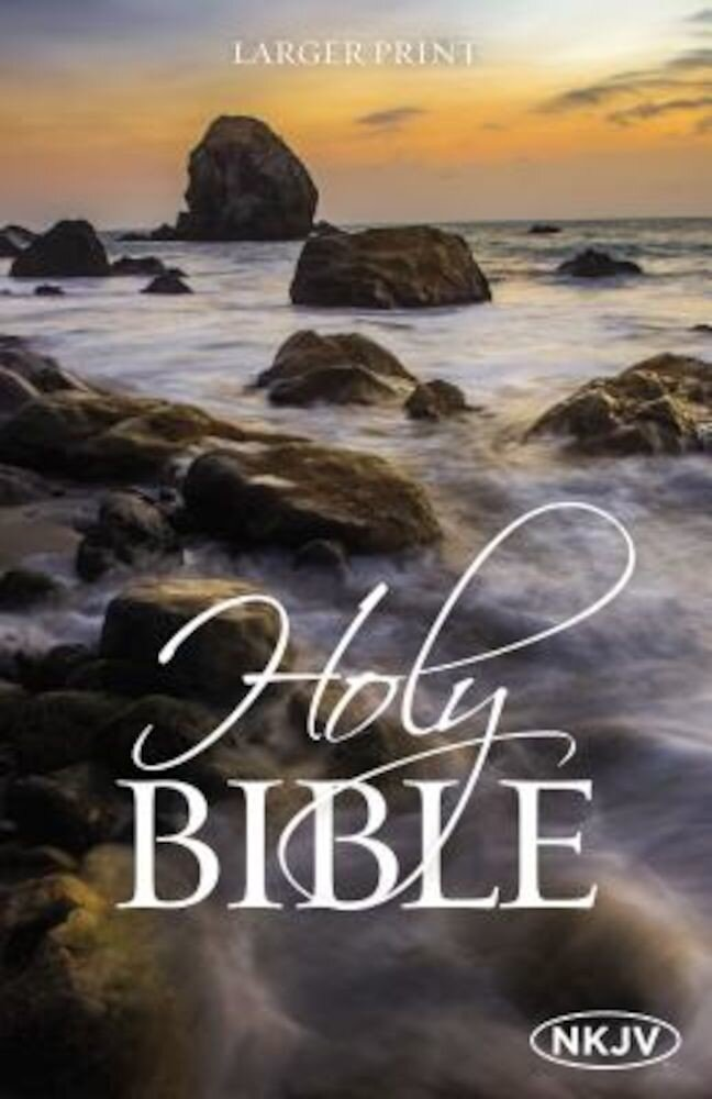 Large Print Bible-NKJV, Paperback