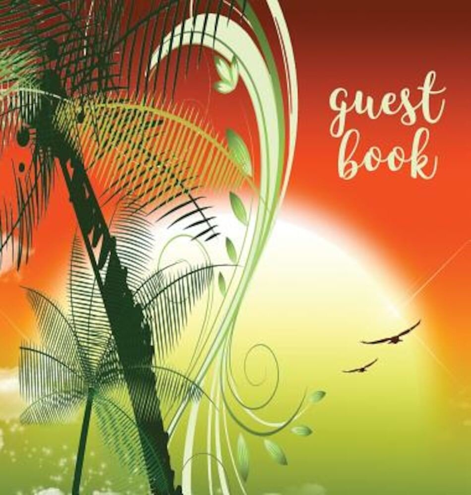 Guest Book (Hardback), Visitors Book, Guest Comments Book, Vacation Home Guest Book, Beach House Guest Book, Visitor Comments Book, House Guest Book:, Hardcover