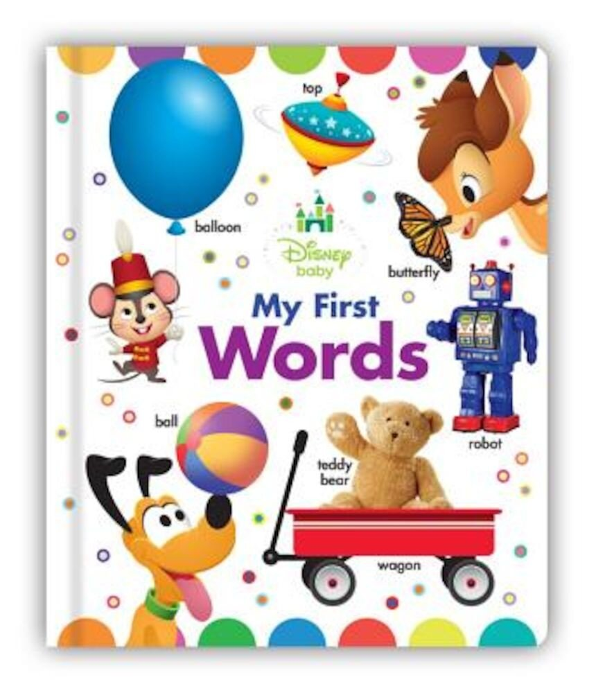 Disney Baby My First Words, Hardcover