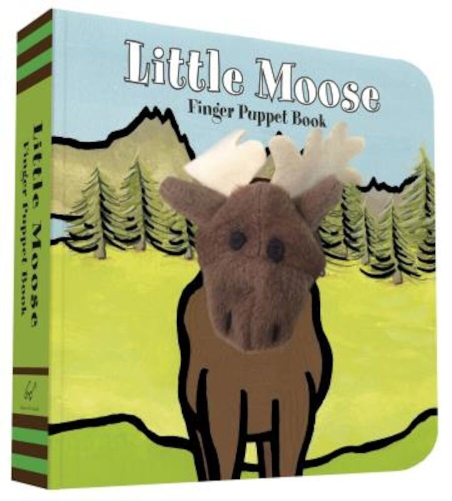 Little Moose: Finger Puppet Book, Paperback