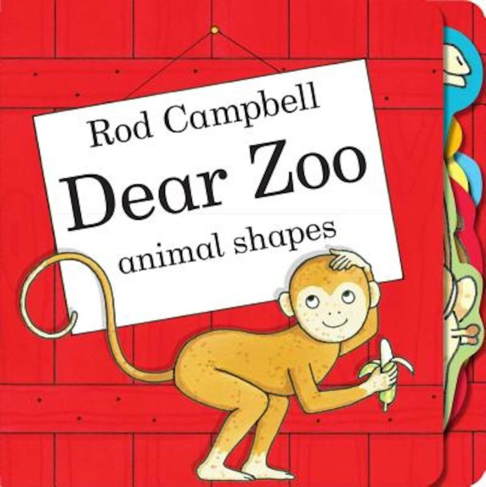 Dear Zoo Animal Shapes, Hardcover