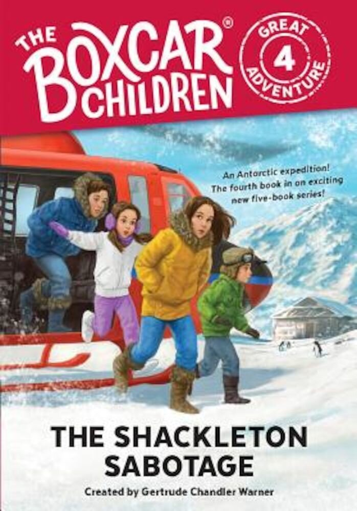 The Shackleton Sabotage, Hardcover