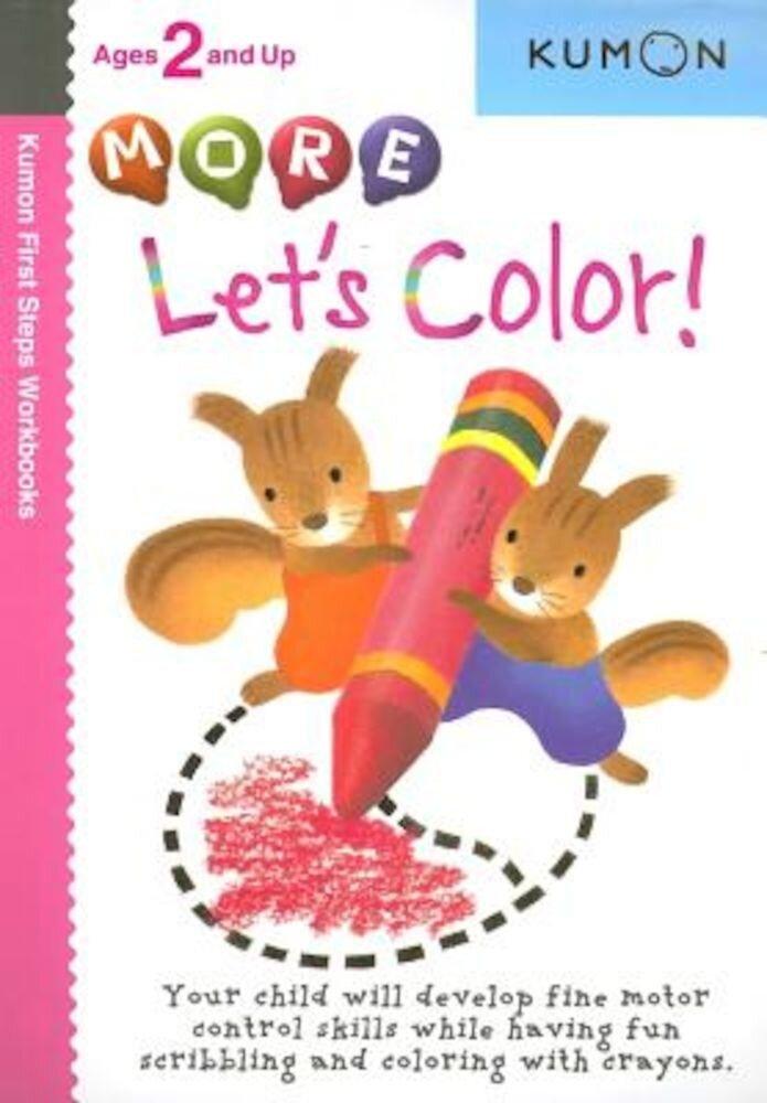 More Let's Color!, Paperback