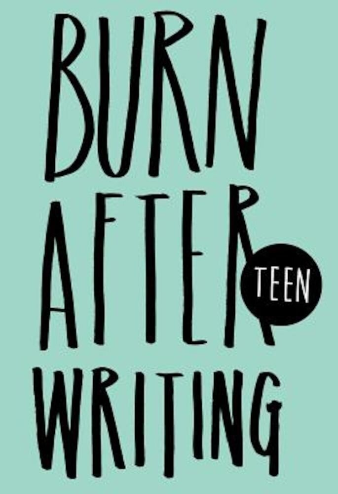 Burn After Writing, Hardcover